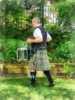 Music - Drummer in Pipe Band