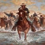 """river crossing"" by JamesGoodridge"