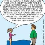 """Level Madness"" by gymnasticscartoons"