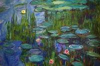 Nympheas 1915 - after Monet