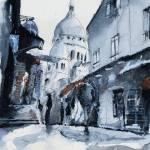 """""""montmartre sous la neige"""" by NicolasJolly"""