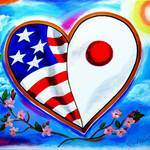 """From Heart to Heart - Japan & USA"" by galina"