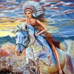 """C:\fakepath\ Ride like the wind"" by ArtlbyYelena"