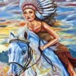 """C:\fakepath\ Ride like the wind_part"" by ArtlbyYelena"