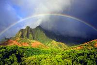 Kalalau Valley Rainbow Kauai