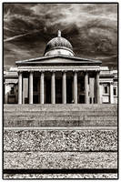 The National Gallery BW