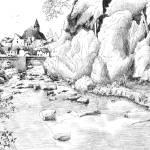 """treignac-sur-vezere"" by NicolasJolly"