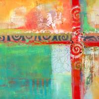 Sunlit Journey Art Prints & Posters by Laura Bolter