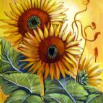 """Sunflowers"" by Barbara"