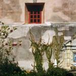 """""""Wall in Courtyard of Carmel Mission Inn"""" by worldwidearchive"""