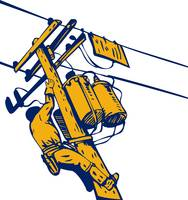 Power Lineman Telephone Repairman Electrician