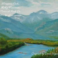 Morainne Park , Rocky Mountain National Park CO Art Prints & Posters by ernie Ferguson