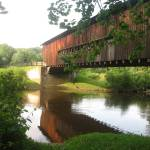 """Ohio Covered Bridge"" by cathypiercepayne"