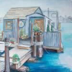 """""""6. Houseboat on Lake Union 2013"""" by Pamla"""