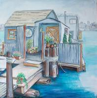 6. Houseboat on Lake Union 2013