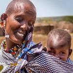 """Masai mother and child"" by mjphoto-graphics"