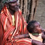 Samburu Elder and son