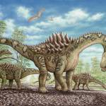 """Ampelosaurus dinosaur"" by PhilWilson"