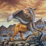 """Gryphon Mythic Creature"" by PhilWilson"