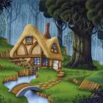 """Enchanted Cottage"" by PhilWilson"