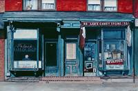 Palace Barber Shop and Lee's Candy Store, Staten I
