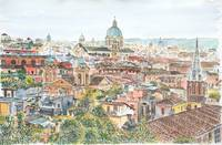 Rome overview from the Borghese Gardens