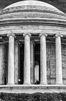 Jefferson Memorial B&W
