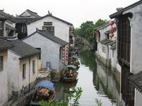 Traditional Chinese Water Village