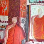 """Two Buddhist Monks"" by BrillianceUnlimited"