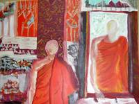 Two Buddhist Monks