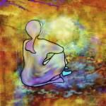 """LIGHT  MEDITATION"" by RitaWhaleyArt"