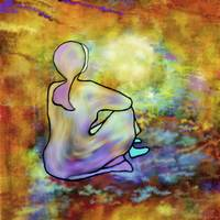 LIGHT  MEDITATION by Rita Whaley