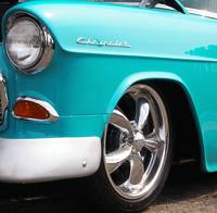 Chevy Baby Blue Muscle