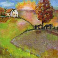 Live in the Sunshine Art Painting