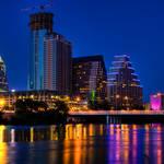 """""""Austin Skyline at Dusk"""" by dawilson"""