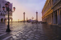 2013-07-28 Dawn Breaks Over St. Mark's Square