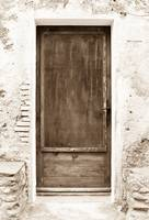 Brown Door of Extremadura