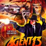 """Agent13Audio_PromoPoster"" by ColonialRadioTheatre"