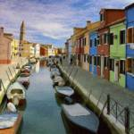 """Canal Burano Venice Italy"" by rdwittle"