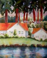 Lakeside Home Art Landscape