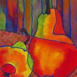 """""""Pear Still Life Art"""" by BlendaStudio"""
