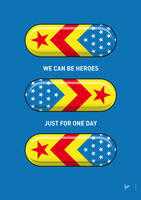 My SUPERHERO PILLS - Wonder woman