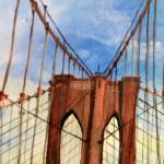 """Brooklyn Bridge"" by kimboriginals"