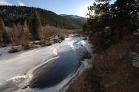South ST Vrain River