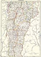 Vintage Map of Vermont (1882)
