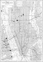Vintage Map of New York City (1911)