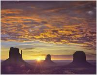 The Mittens &  Merrick Butte, Monument Valley