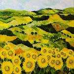 """Sunflowers and Sunshine"" by allanfriedlander"