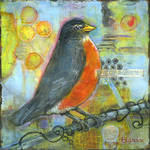 """Robin Red Breast"" by BlendaStudio"