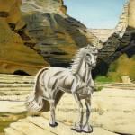 """Unicorn"" by mydimensionalcanvas"